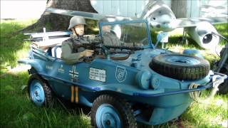 RC 1/6th Scale World War II  Action figures collection & vehicles 2013
