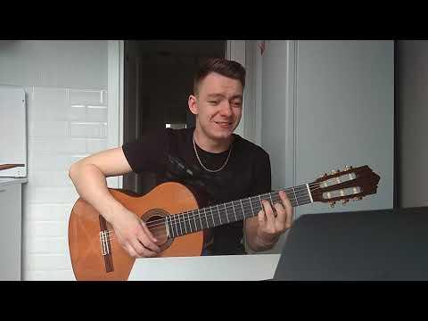 Душевная песня под гитару без обработки