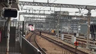 2019.7.13  こだま730  500系 ハローキティ新幹線  新大阪駅20番線にて