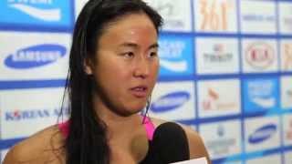 swimming quah ting wen and tao li   17th asian games incheon 2014