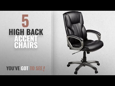 Top 10 High Back Accent Chairs 2018: Amazonbasics High
