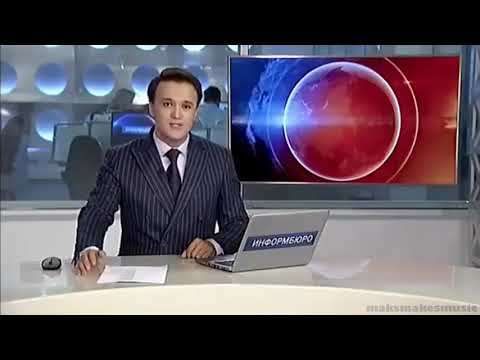 Kazakhastani news anchor + rock band