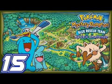 LanturnJoe's Pokémon Mystery Dungeon Blue Rescue Team The Kyrix's Challenge Part 15