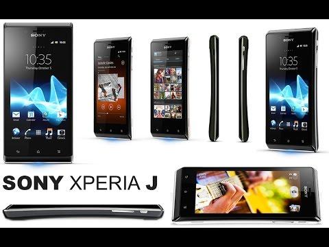 SONY Xperia J ST26i - flash - hard reset