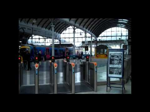 Get Carter film locations part two - Newcastle central station
