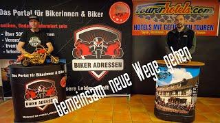 Biker-Adressen & Tourerhotels unterstützen Hotels, Gasthöfe und Pensionen