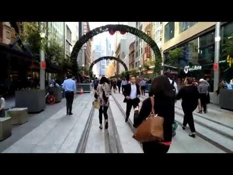Sydney Pitt Street Mall 2017