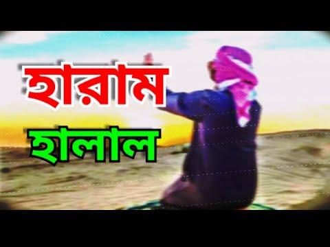 Download হারাম-হালাল। নিজেকে বাচান হারাম থেকে।Hadiser bani 2020।Charamaddi tv