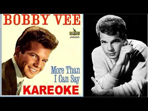 More than I can say (Kareoke), 1961 Bobby Vee - Style