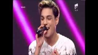 """Duel: Maxim - """"Sărutări criminale"""". Vezi aici cum cântă Cristian Goaie la X Factor!"""