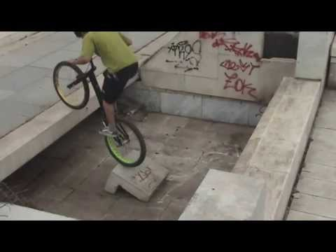 Bike trial Bulgaria, Sofia 25-26.05.13