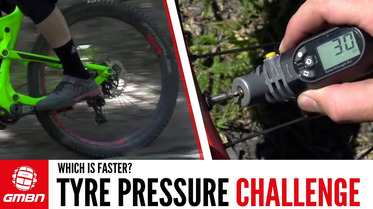 MTB Tyre Pressure Challenge: Soft Tyres Vs Hard Tyres Vs The ...
