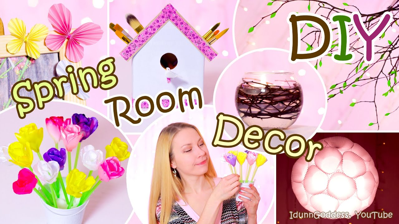 5 diy spring room decor ideas – easy diy room decorations for