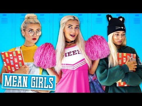 TYPES OF GIRLS IN SCHOOL!