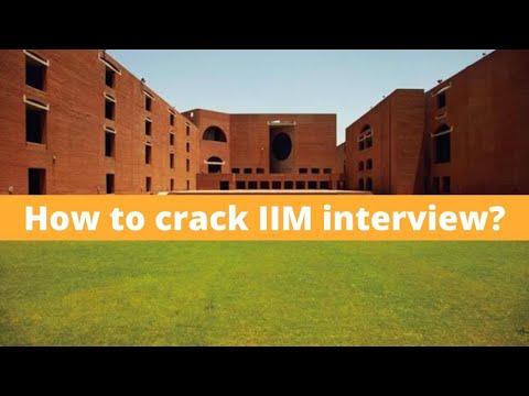 How to crack IIM interview and other top B schools