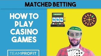 How To Play Casino Games - Slots, Blackjack and Roulette