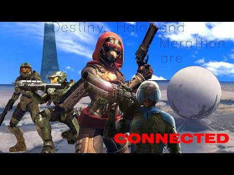 DESTINY'S TRUE STORY | Bungie games Destiny, Halo and Marathon are all connected theory