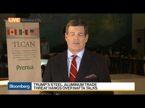 Trump's Steel, Aluminum Trade Threat Hangs Over Nafta Talks