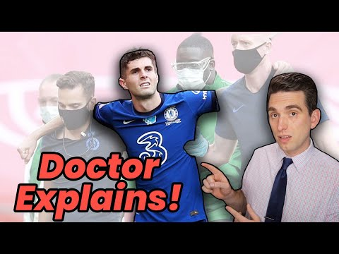 Doctor Explains Christian Pulisic Crushing Injury in FA Cup Final - Chelsea vs Arsenal