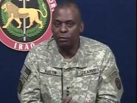 Iraq Briefing: Lt. Gen. Lloyd Austin