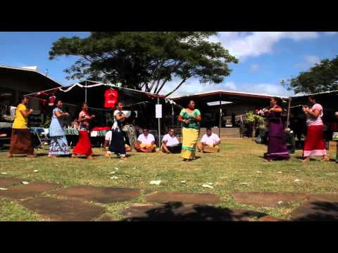 04.18.12 - UH West O'ahu Hawaiian Pacific Club performs at West O'ahu Day