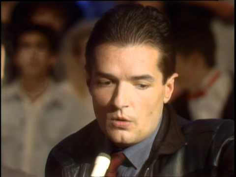Dick Clark Interviews Falco - American Bandstand 1986
