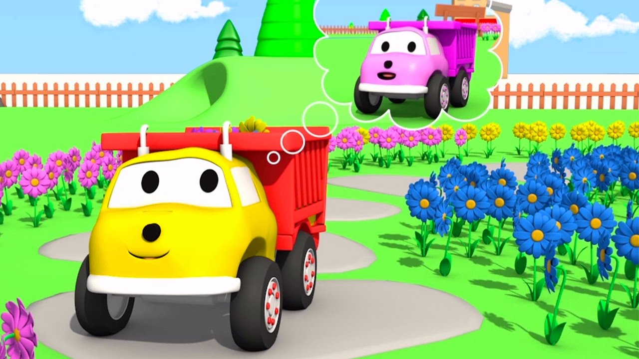 learn-colors-and-numbers-with-flowers-and-ethan-the-dump-truck-educational-cartoon-for-children