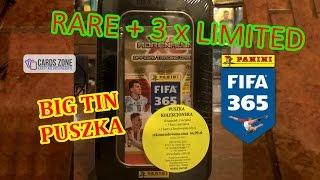 Duża puszka Limited Edition RARE cards - Fifa 365 - Panini - Adrenalyn xl