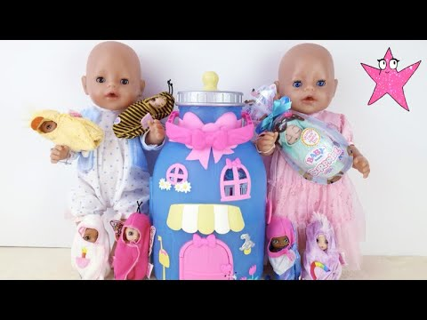 ¡NUEVO! La Casa Biberón De Los Baby Born Surprise A Bruno Y Abril Les Encanta
