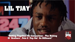 Lil Tjay Putting Together No Comparison , The Making Of Brothers , Polo G Pop Out On Billboard.mp3