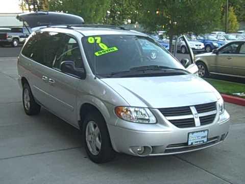 2007 Dodge Grand Caravan Sxt Stow And Go Power Doors