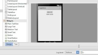 Android Studio Tutorial - 13 - Working with Toggle Button