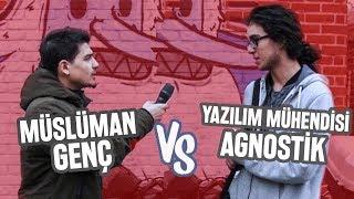 YAZILIM MÜHENDİSİ AGNOSTİK İLE MÜSLÜMAN GENCİN TARTIŞMASI - Sokak Röportajı