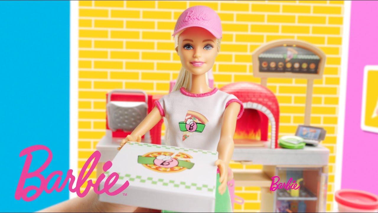 Barbie Pizza Chef Barbie Youtube