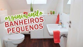 Aprenda 8 truques fantásticos para decorar e organizar banheiros pequenos