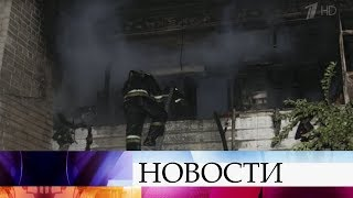 В Саратове выясняют причины крупного пожара.