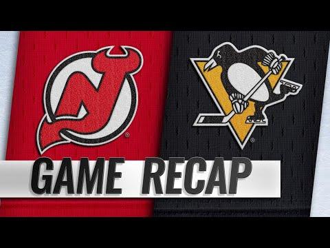 Zajac's four points propel Devils past Penguins, 6-3