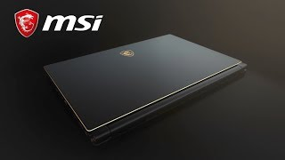 World's 1st 144Hz thin bezel gaming laptop - GS65 Stealth Thin | MSI