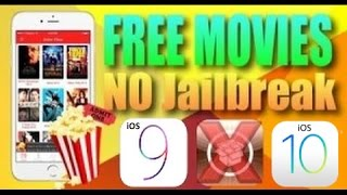 Download / Watch Movies FREE on iOS 9.1 -  iOS 7  (NO Jailbreak) iPhone - iPad - iPod  November 2015