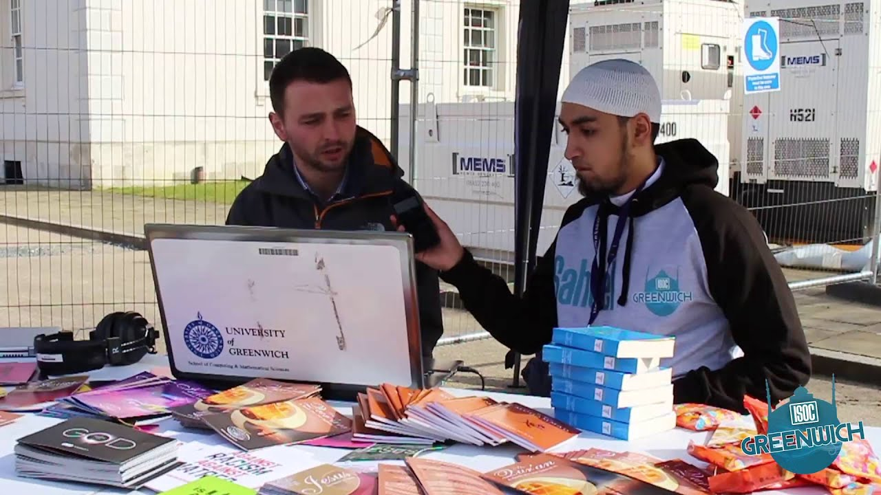 Download [ISOC Greenwich TV] - Quran Booth Highlights