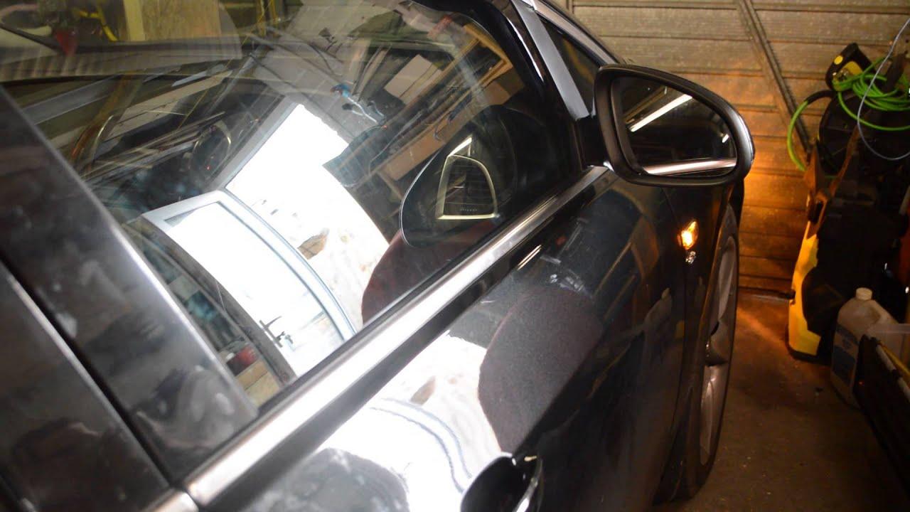 Vauxhall Astra-J Auto folding mirrors - YouTube