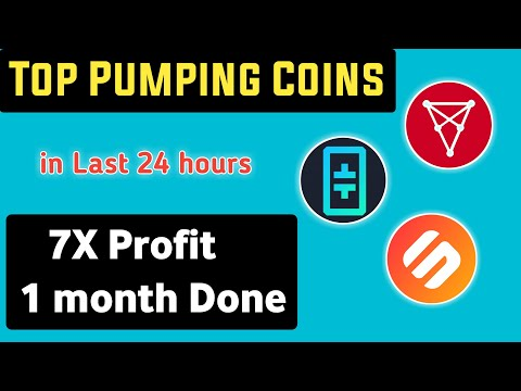 Top Pumping Coins in last 24 hours | SXP, THETA, CHZ, Crypto update | Best Profitable cryptocurrency