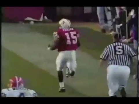 Tommie Frazier- The Greatest Run In College Football History