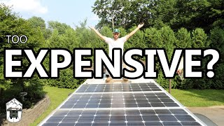 The REAL cost of an OFF GRID SOLAR SYSTEM
