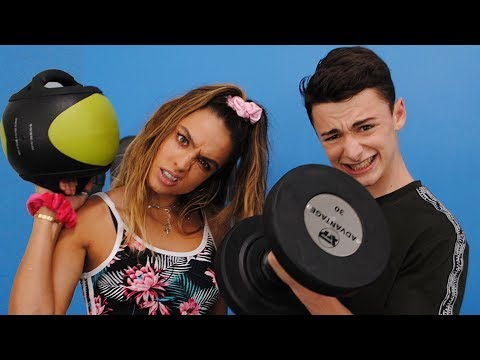 Sommer Ray and I get JACKED at the gym | Noah Schnapp