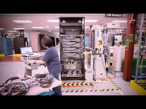 Assembling the IBM Z mainframe in 120 seconds