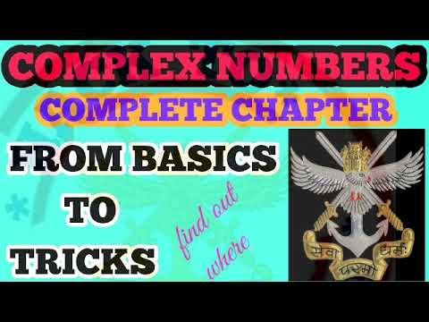 NDA MATHS TRICKS||CHAPTER WISE||COMPLEX NUMBERS TRICKS ||FOR NDA|NDA,AIRFORCE,JEE NAVY,TRICKS|HINDI thumbnail