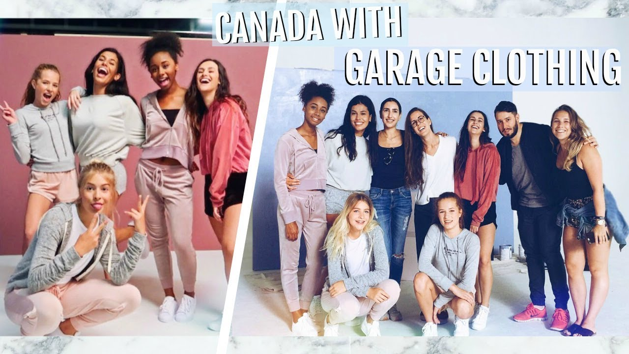 COLLAB WITH GARAGE CLOTHING Going To Canada
