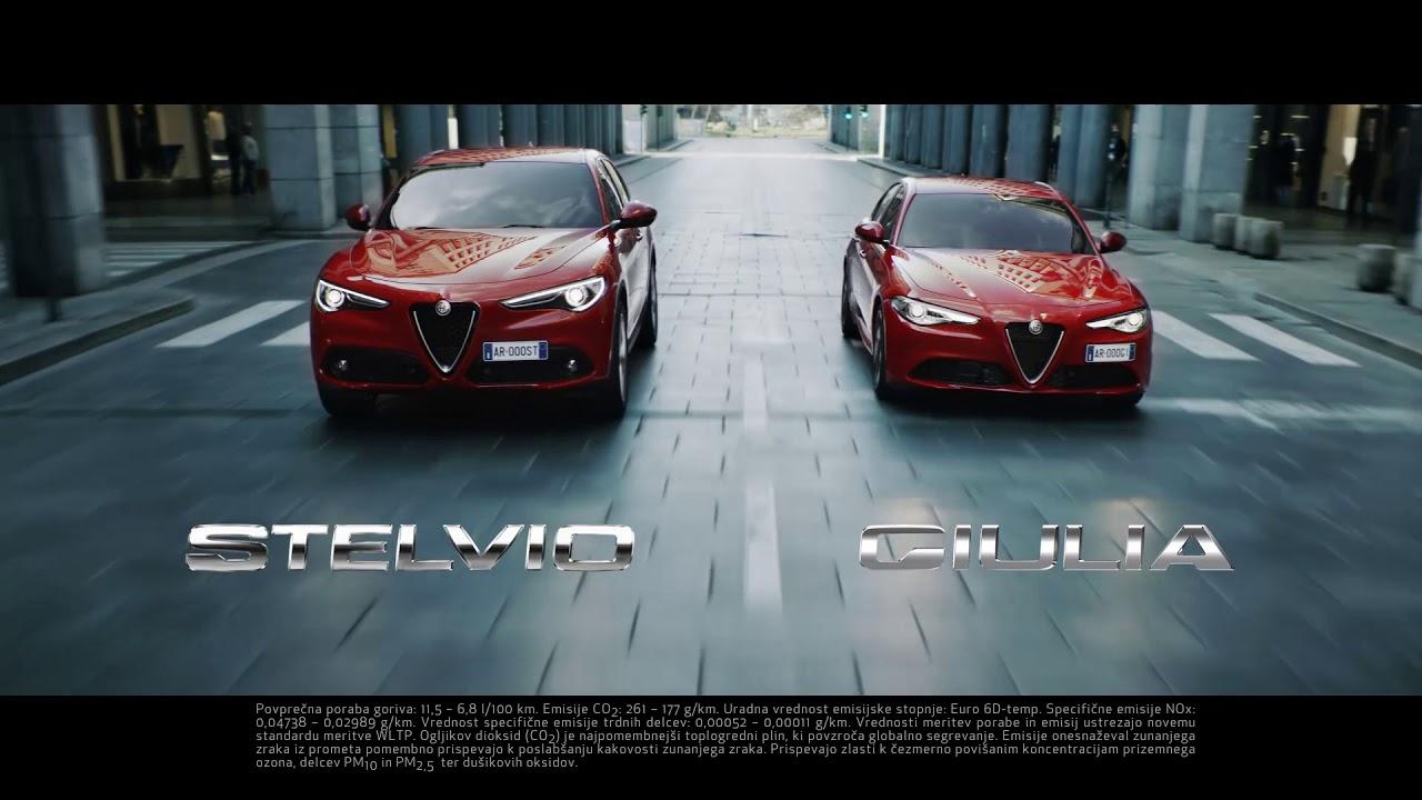 Alfa Romeo čisti užitek v vožnji