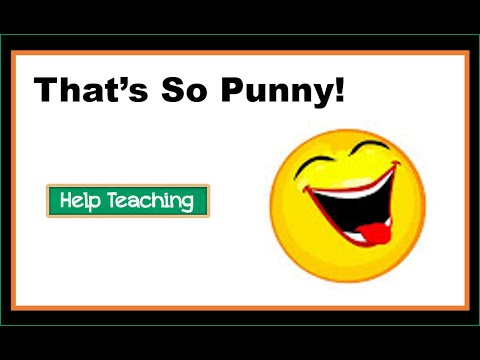 That's So Punny! - A Lesson about Puns